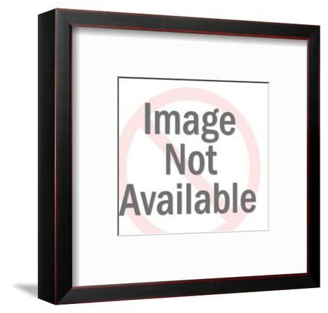 Snarling Hyena-Pop Ink - CSA Images-Framed Art Print