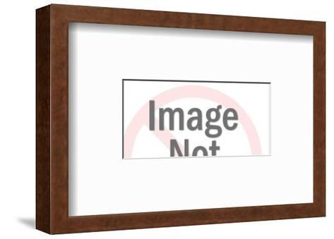 Locomotive-Pop Ink - CSA Images-Framed Art Print