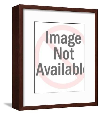Bellhop Calling out for Someone-Pop Ink - CSA Images-Framed Art Print