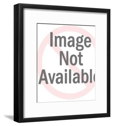 Bellhop Carrying Luggage-Pop Ink - CSA Images-Framed Art Print