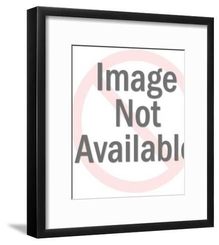 Businessman with Many Documents-Pop Ink - CSA Images-Framed Art Print