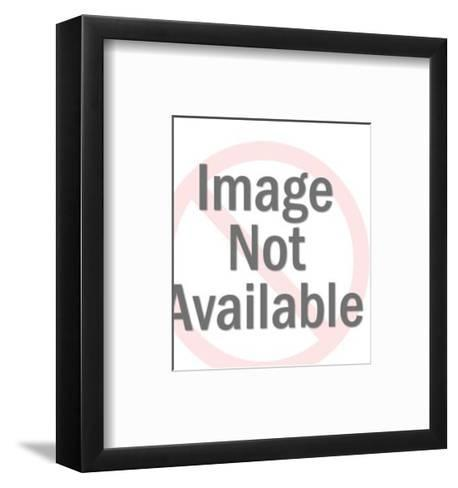 Running Delivery Man-Pop Ink - CSA Images-Framed Art Print