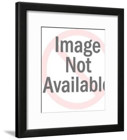 Smiling Rooster-Pop Ink - CSA Images-Framed Art Print