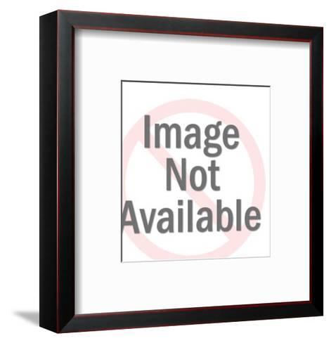 Man Placing Money in Suit Coat Pocket-Pop Ink - CSA Images-Framed Art Print