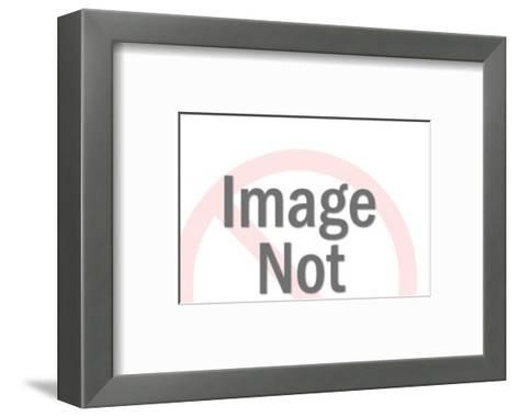 Jeep Keychain-Pop Ink - CSA Images-Framed Art Print