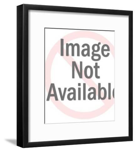 Man Holding Large Stack of Orders-Pop Ink - CSA Images-Framed Art Print
