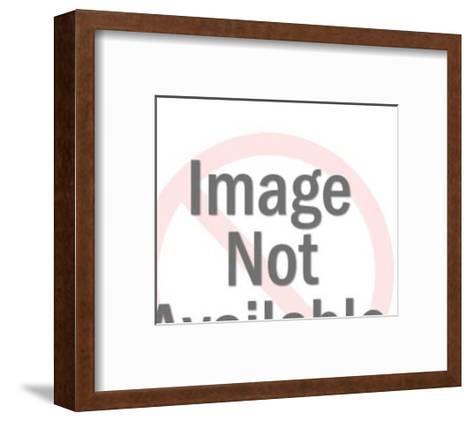 Full Hauling Truck-Pop Ink - CSA Images-Framed Art Print