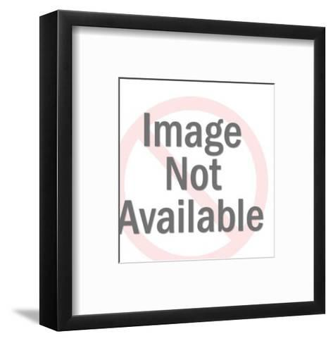 Delivery Man with Package Under Each Arm-Pop Ink - CSA Images-Framed Art Print