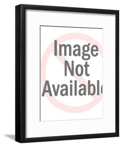 Woman About to Pull Her Hair Out-Pop Ink - CSA Images-Framed Art Print