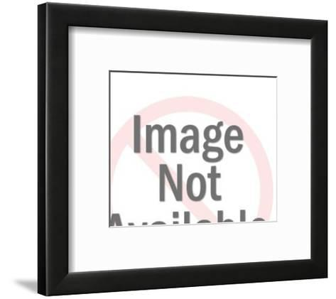 Woman with Money-Pop Ink - CSA Images-Framed Art Print