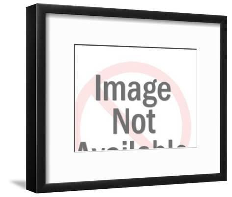 Man with Tool-Pop Ink - CSA Images-Framed Art Print