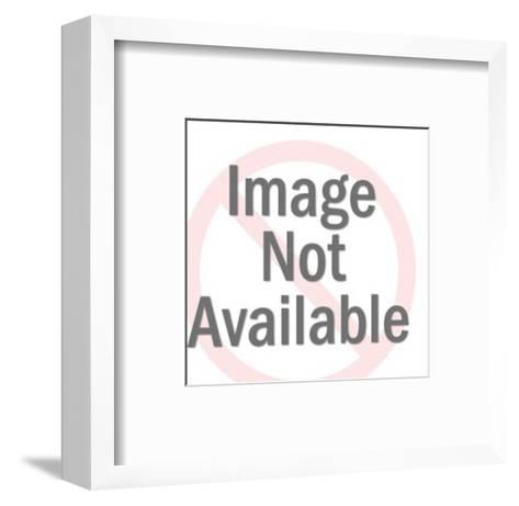 DEM Donkey-Pop Ink - CSA Images-Framed Art Print