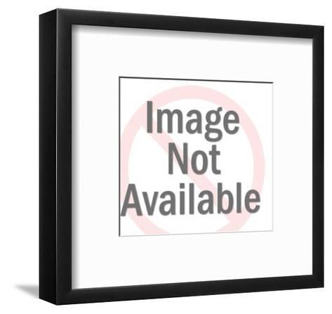 Man Eating Breakfast-Pop Ink - CSA Images-Framed Art Print