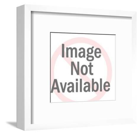 All-Male Quartet-Pop Ink - CSA Images-Framed Art Print