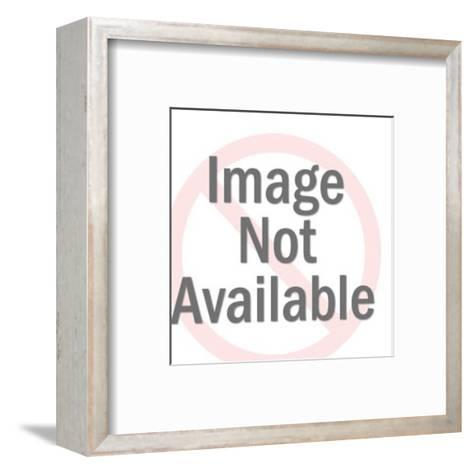 Couple About to Kiss-Pop Ink - CSA Images-Framed Art Print