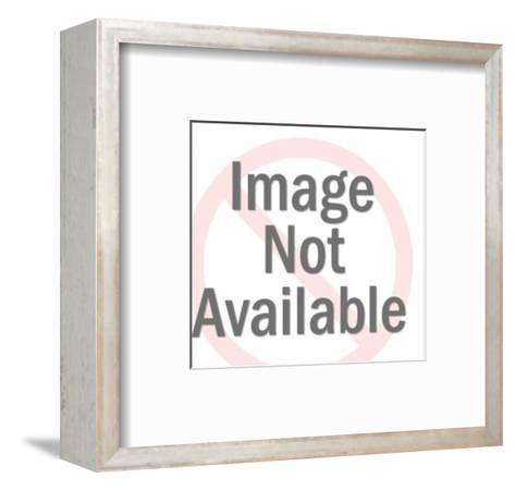 Lumberjack with Smoking Pipe-Pop Ink - CSA Images-Framed Art Print