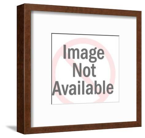 Man Winding Clock-Pop Ink - CSA Images-Framed Art Print