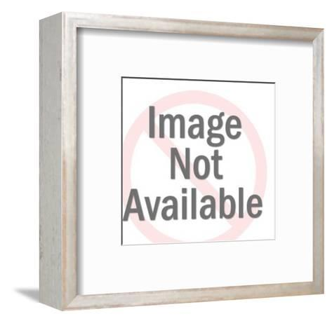 Electric Guitar-Pop Ink - CSA Images-Framed Art Print