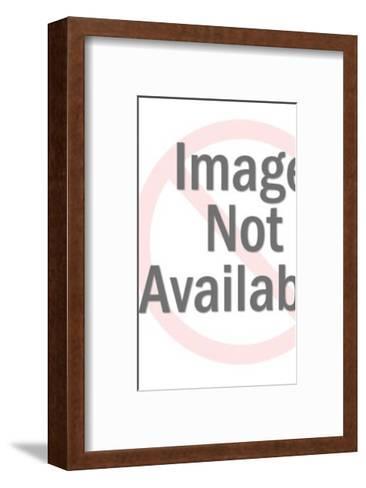 Window Washer-Pop Ink - CSA Images-Framed Art Print