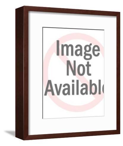 Man Taking Photos-Pop Ink - CSA Images-Framed Art Print