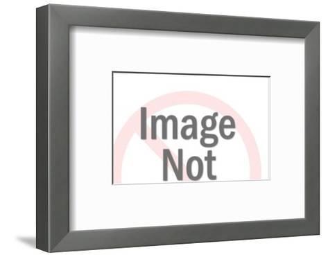 Cement Truck-Pop Ink - CSA Images-Framed Art Print