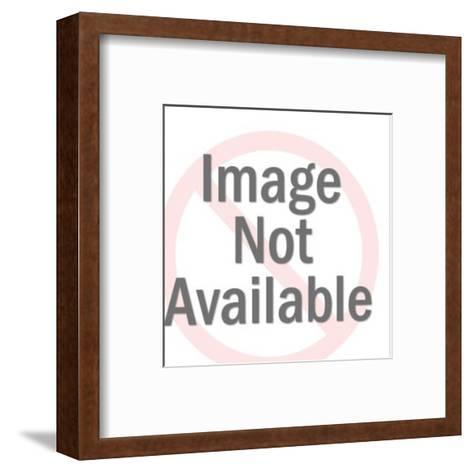 Delivery Man Standing on USA-Pop Ink - CSA Images-Framed Art Print