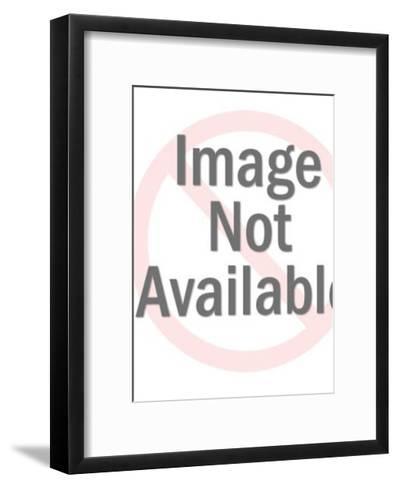 Man Holding Boy Having a Tantrum-Pop Ink - CSA Images-Framed Art Print