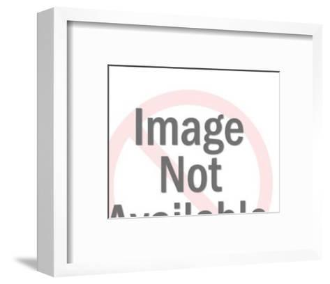 Clothing Iron-Pop Ink - CSA Images-Framed Art Print