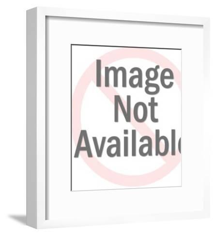 Female Telephone Operator-Pop Ink - CSA Images-Framed Art Print