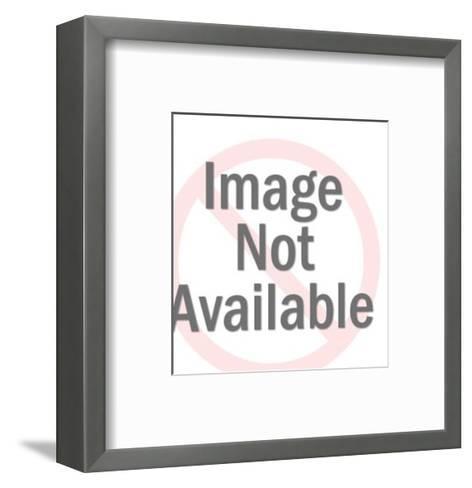 Girl Holding Box-Pop Ink - CSA Images-Framed Art Print