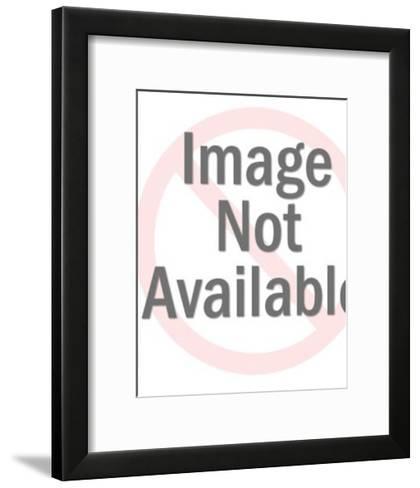 Butterfly-Pop Ink - CSA Images-Framed Art Print