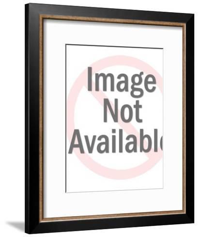 Winking Boy-Pop Ink - CSA Images-Framed Art Print