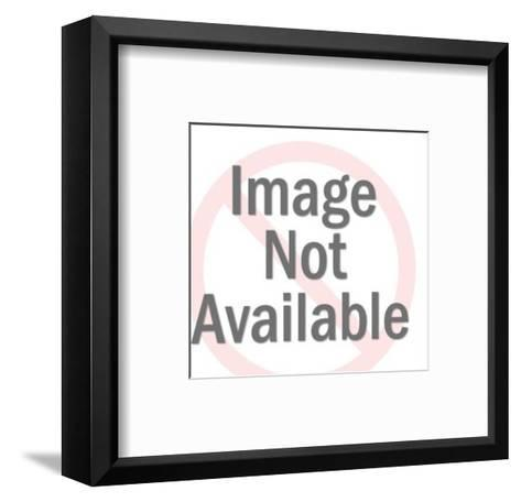 Delivery Room Doctor About to Spank Newborn-Pop Ink - CSA Images-Framed Art Print