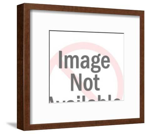 Large Engine-Pop Ink - CSA Images-Framed Art Print