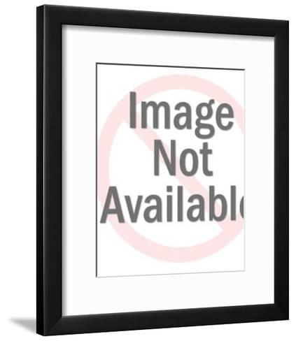 Girl With Folded Arms-Pop Ink - CSA Images-Framed Art Print