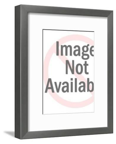 Smiling Policeman with Exclamation Point on Hand-Pop Ink - CSA Images-Framed Art Print