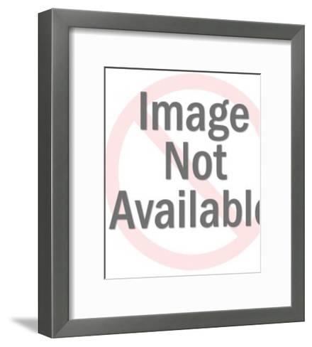 Blue Jay Bird-Pop Ink - CSA Images-Framed Art Print