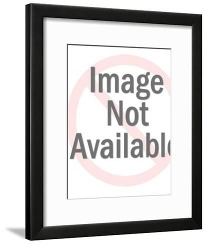 Man with Diamond Body Taking Notes-Pop Ink - CSA Images-Framed Art Print