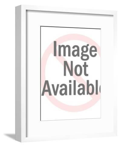 Metropolitan Scene-Pop Ink - CSA Images-Framed Art Print