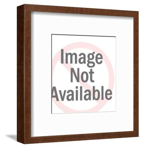 Male Painter Gesturing-Pop Ink - CSA Images-Framed Art Print