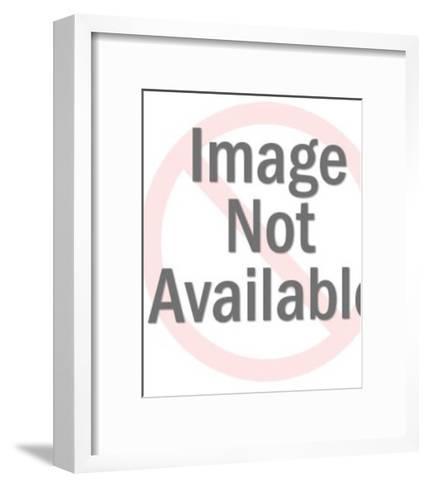 Man Holding Screw-Pop Ink - CSA Images-Framed Art Print