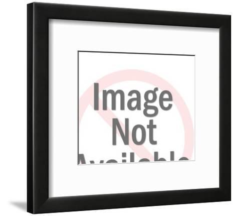 Panting Dalmatian-Pop Ink - CSA Images-Framed Art Print