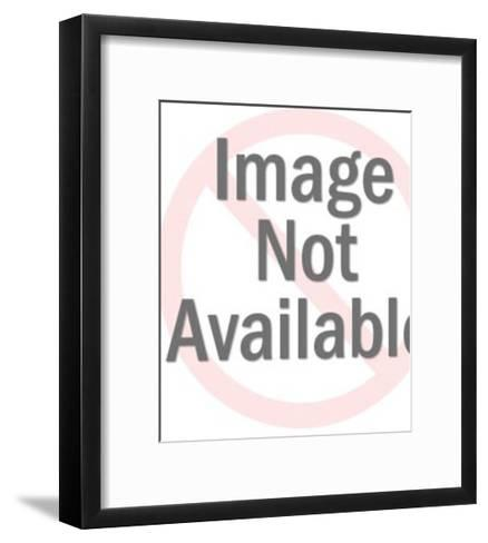 Man With Locked Lips-Pop Ink - CSA Images-Framed Art Print