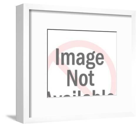 Steam Engine Train-Pop Ink - CSA Images-Framed Art Print
