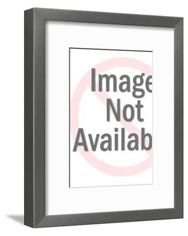 Man Wearing Crown-Pop Ink - CSA Images-Framed Art Print