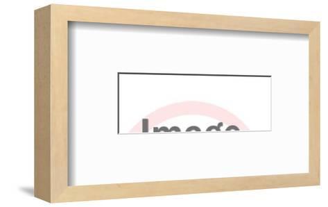 Chirp if You Love Chicken Chicken-Pop Ink - CSA Images-Framed Art Print