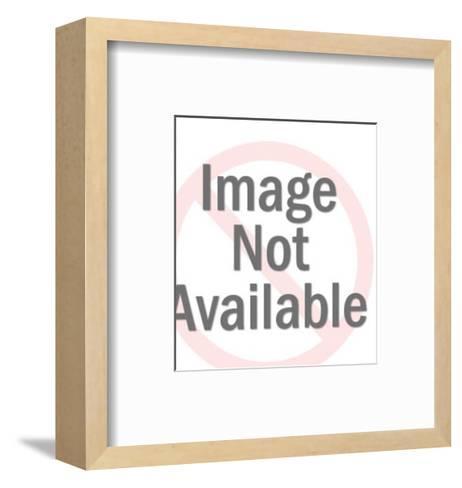 Miner Panning for Gold-Pop Ink - CSA Images-Framed Art Print