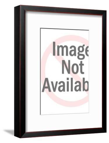 Couple Walking-Pop Ink - CSA Images-Framed Art Print