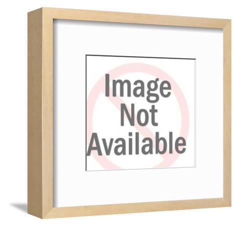 Man Wearing Lederhosen and Lifting Mug of Beer-Pop Ink - CSA Images-Framed Art Print