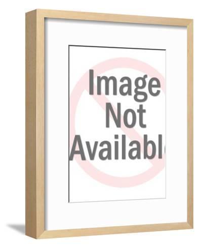 Elderly Man Wearing Glasses-Pop Ink - CSA Images-Framed Art Print